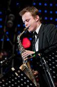 Russian Jazz Musician Igor Butman Performs