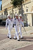 Monaco Soldiers Marching