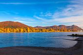 stock photo of bonnes  - The Rhine near Bonn - JPG