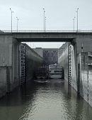 Lock At Three Gorges Dam