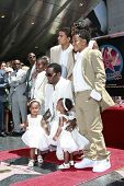 LOS ANGELES - MAY 2: Actor-rapper Sean 'P Diddy' Combs and family at the ceremony honoring him with
