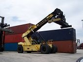 Shipping Yard Container Loader