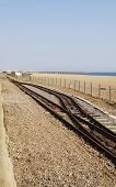 Volks Railway Track. Brighton Beach.