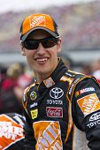 Brooklyn, mi 17. Juni 2012: Joey Logano (20) Rennen in Quicken Darlehen 400 an der Michigan-Intern