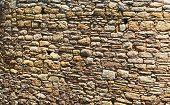 Primitive sandstone wall - texture