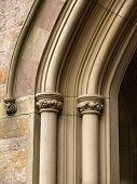 Historic Church Arch Detail poster