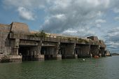 Keroman U-boat base from world war II