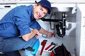 professionelle Klempner. Sanitär-Reparatur-Service.