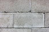 Old Cinder Block Wall