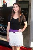 LOS ANGELES - JUN 20:  Vanessa Britting arrives at HBO's