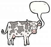 cartoon mooing cow
