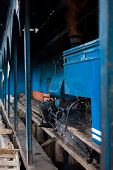 Toy Train Engine Shed Darjeeling India Railyway
