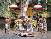 Traditional Classical Barong Theatre Show On Bali