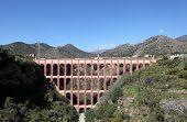 The  Aqueduct Of Nerja, Spain