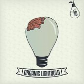 Lightbulb With Brain
