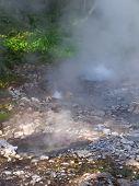 Geyser Hot Spring In Huai Nam Dang National Park In Chiang Mai, Thailand