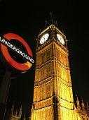 Big Ben por noche