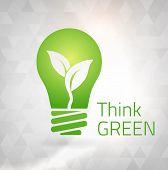 Ecology Think Green Bulb