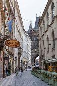 Karlova Street In Prague