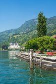 Vitznau,Lake Lucerne,Switzerland