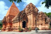 picture of ancient civilization  - Towers were built by the Cham civilization - JPG