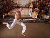 Capoeira Martial Arts And Music