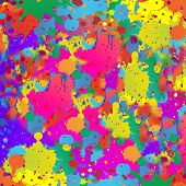 Abstract background resembling wet splattered paint.