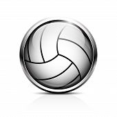 Volleyball vector icon