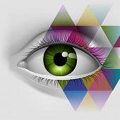 Eye, eps10 vector