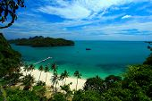 pic of tong  - From top of view point  at Koh Samui - JPG