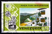 Postage Stamp Venezuela 1974 Suburban Housing Development