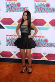 LOS ANGELES - NOV 17:  Becky G at the TeenNick Halo Awards at Hollywood Palladium on November 17, 20