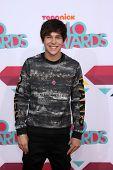 LOS ANGELES - NOV 17:  Austin Mahone at the TeenNick Halo Awards at Hollywood Palladium on November