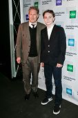 NEW YORK-NOV 18; Casting director Bernie Telsey and son Felix (R) attend the CSA 29th Annual Artios