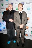 NEW YORK-NOV 18; Actor Harvey Fierstein (L) and casting director Bernie Telsey attend the CSA 29th A