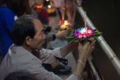 Loy Krathong Day In Thailand