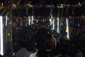 Loy Krathong Festival  In Chiangmai Thailand