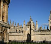 All Souls College Oxford Univeristy (high Resolution - Great For Print)