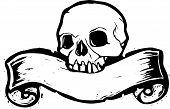 Banner Skull #2