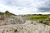 Cape Cod Beach Fence