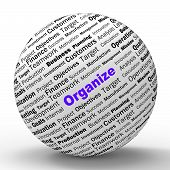 Organize Sphere Definition Shows Structured Files Or Management