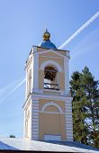 picture of epiphany  - Belfry Church of the Epiphany in the village Perhovo  - JPG