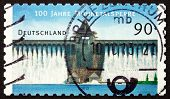 Postage Stamp Germany 2013 Mohne Reservoir
