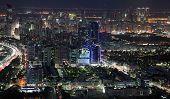 City Of Abu Dhabi At Night