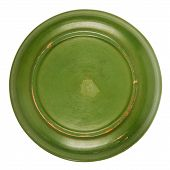 Bottom Side Of Green Plate
