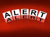 Alert Blocks Represent Notification Alerts And Notice