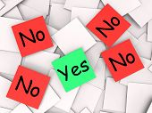 Yes No Notes Mean Positive Or Declining