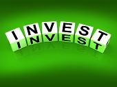 Invest Blocks Refer To Investing Loaning Or Endowing