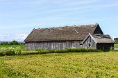 Old farm in Visingso in Sweden