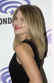 APRIL 19-ANAHEIM, CA: Ali Larter  arrives at the 2014 Annual Wondercon press room for TNT's